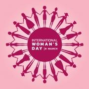 International Women's Day logo 8th March